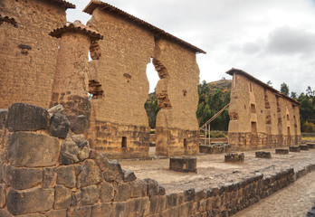 Raqchi ruins, Cuzco, Peru