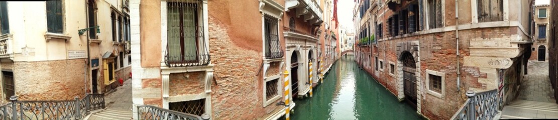 Panorama von Altstadt in Venedig