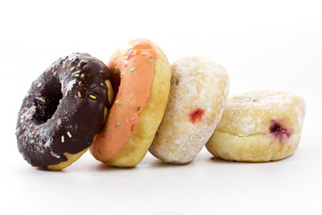 Group of doughnut