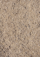 Crushed stone, gravel closeup