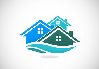 home realty vector logo