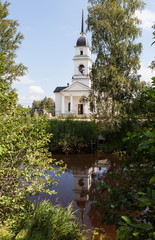 Kobona. Church of St. Nicholas.