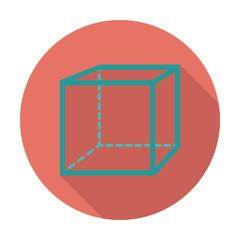 Geometric cube.