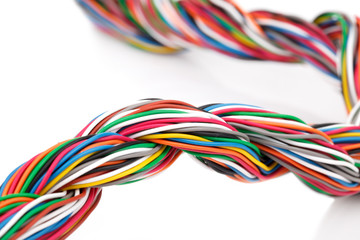 muti-color electronic wire