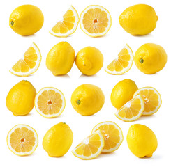 lemon isolated on white