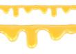 Sweet honey drips seamless vector