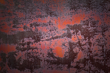 Old rusty metal background texture.