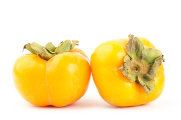 Fresh persimmon fruit
