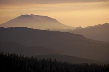 Mount St. Helens Dusk, Washington state