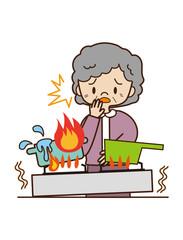 高齢者の火災事故