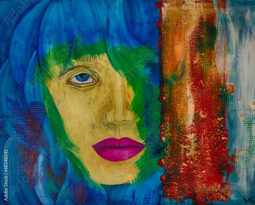 Ölgemälde Gemälde Kunstdruck artprint Kunst abstrakt © artefacti
