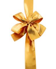 ruban doré, emballage cadeau
