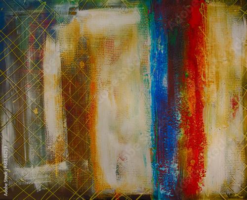 Aluminium Olieverf Kunstdruk Ölgemälde Gemälde Kunstdruck artprint Kunst abstrakt