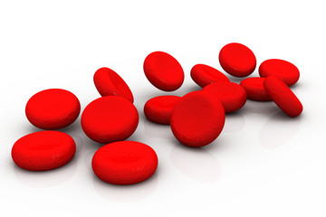 Red blood cells..