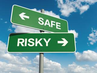 safe risky