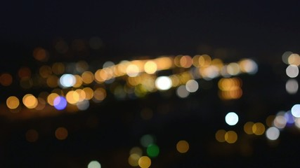 night city (soft blurred)