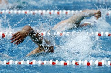 Nadador en estilo crol