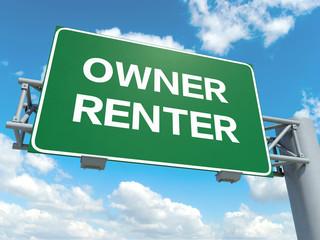 owner renter