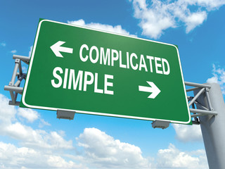 complicated simple