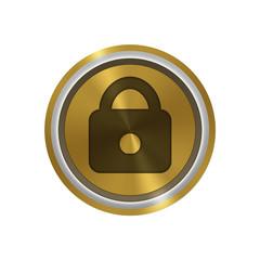 Icone or : sécurité