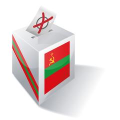 Wahlbox Transnistrien