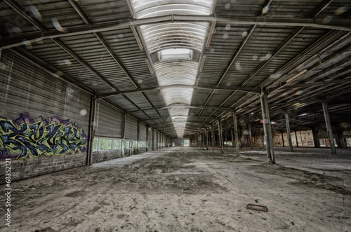 canvas print picture urbex image