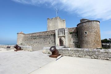 Fortress Vauban in Fouras, Charente-Maritime, France
