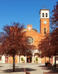 Parish Church of Sant Adria. Spain