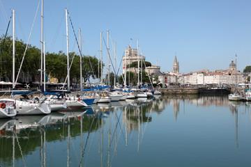 Marina of La Rochelle, Charente Maritime, France
