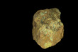 Fluorescent Andersonite-rare Uranium ore-in UV light. 9cm high