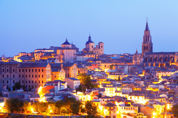 view of Toledo with Cathedral