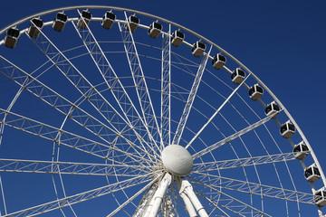 big panorama wheel close up