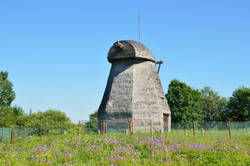 Великий Новгород, деревянный корпус мельницы