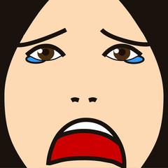 face cartoon expression 22 sad face