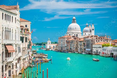 Fotobehang Venetie Canal Grande, Venezia