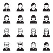 Business people icon, vector format