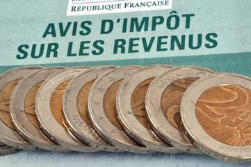 Avis d'impôt sur les revenus