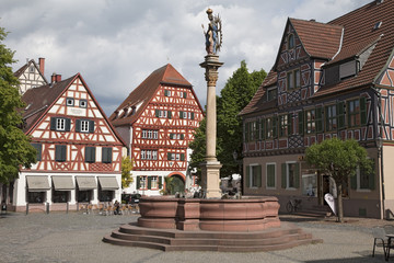 Ladenburg Marktplatz