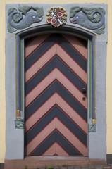 Ladenburg Tür Stadtbibliothek
