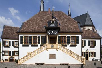 Markplatz Deidesheim Rathaus