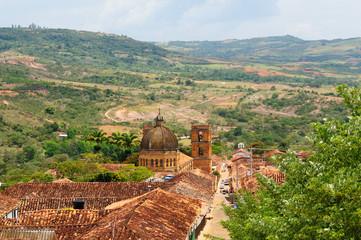 Colombia, Colonial village of Barichara