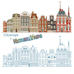 Design of Cityscape in Netherlands and Dutch Architecture