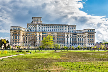 People Palace in Bucharest Romania