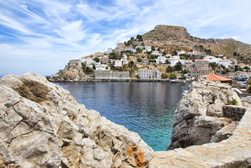 Hydra or Ydra island in Greece