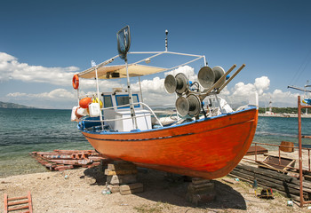 Greek fishing boat