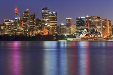 Sydney Cremorne close dusk