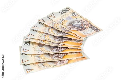Polish banknotes of 200 PLN - 68361521