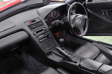 クルマの運転席