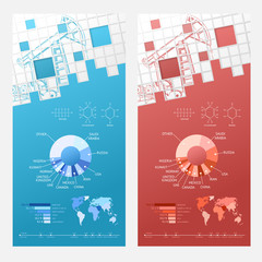 Oil infographic design.
