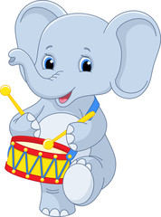 elephant drummer